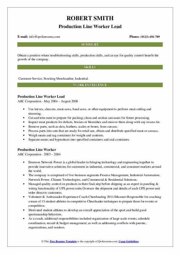 Juvenile Correctional Officer II Resume Model