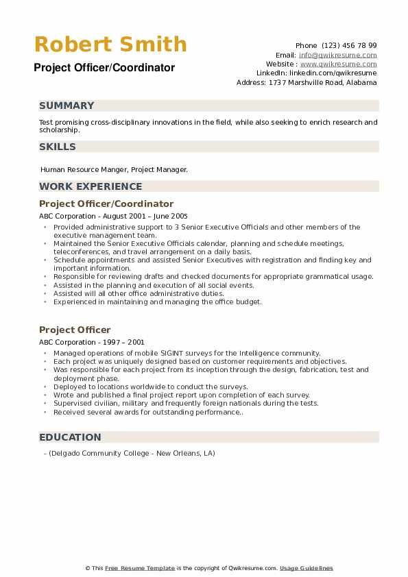 Administrative Assistant To CEO Resume example