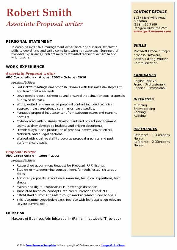 Rfp Response Cover Letter Sample from assets.qwikresume.com