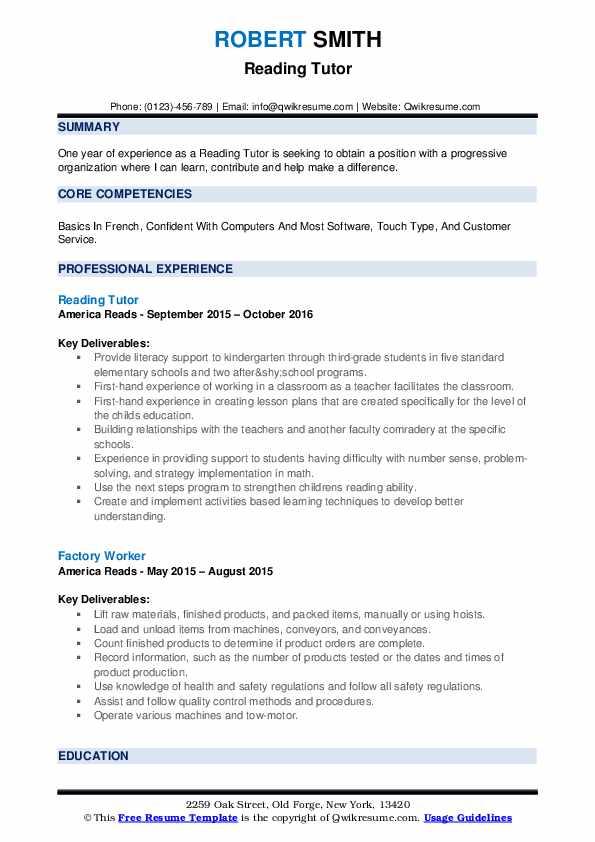 Lowagie pdf reader sample resume
