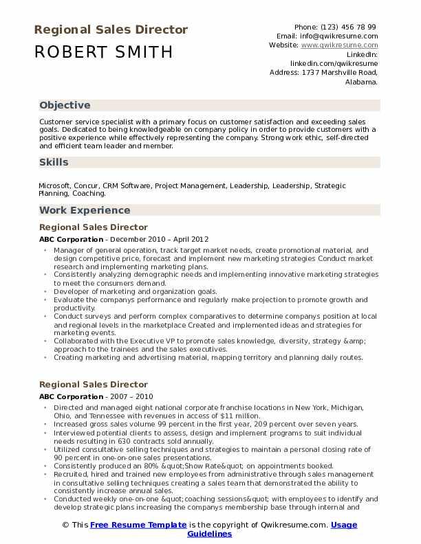 Marketing Executive Manager Resume Example