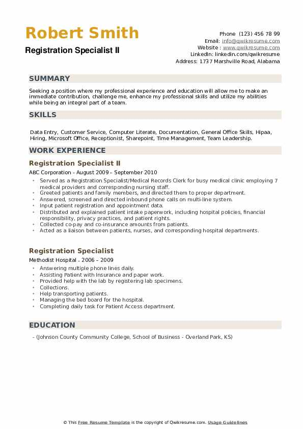 Contact Center Supervisor Resume example