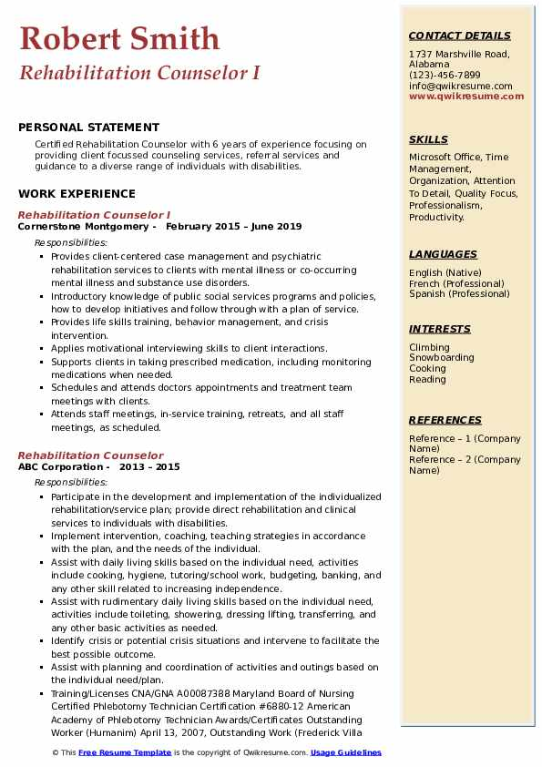 Community Support Worker/Specialist Resume Example