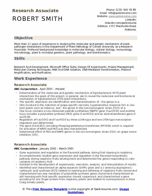 Entry Level Clinical Research Associate Cover Letter - Cv ...