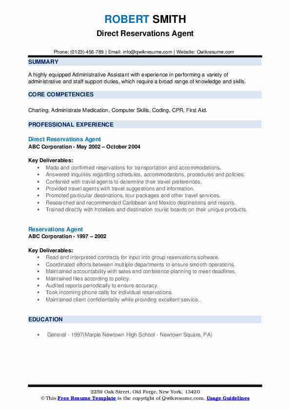 Technical Coordinator Resume example