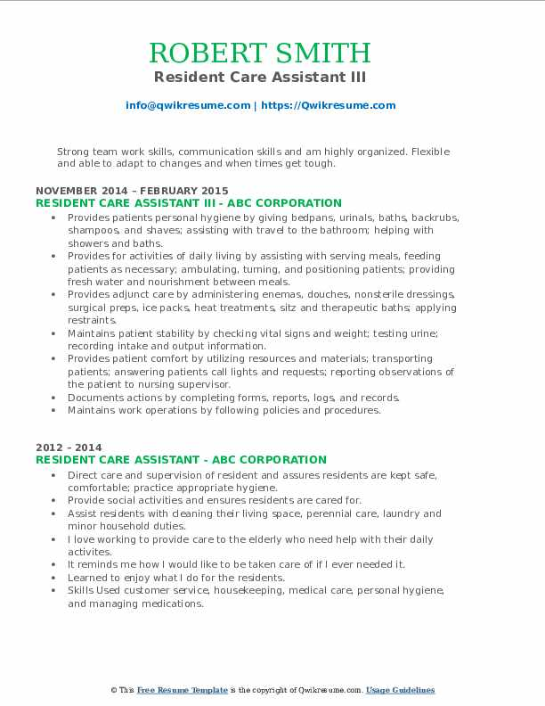 Upscale Security Officer III Resume Template
