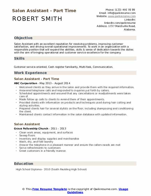 Hair stylist assistant resume essay on problem of discipline