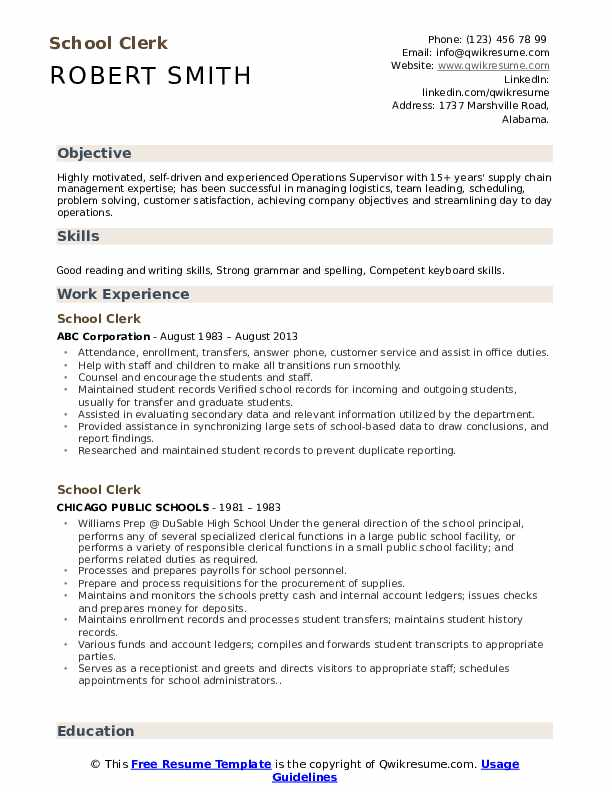 School clerk resume examples how to cite a website apa format in text