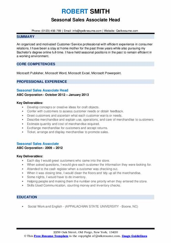 Phone Representative Resume example