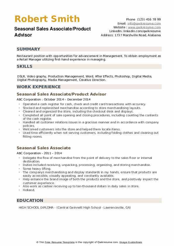 Counter Helper Resume Template