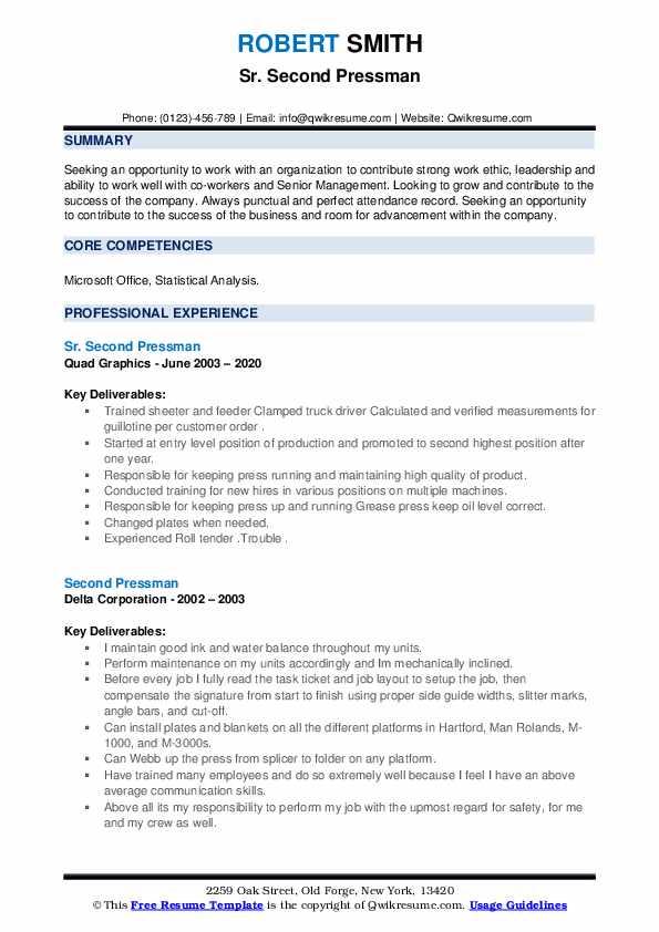 Second pressman resume national merit scholarship essay prompt 2009
