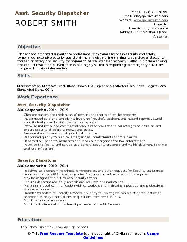 resume sql developer
