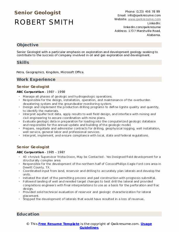Geologist engineer resume every cloud has a silver lining meaning essay