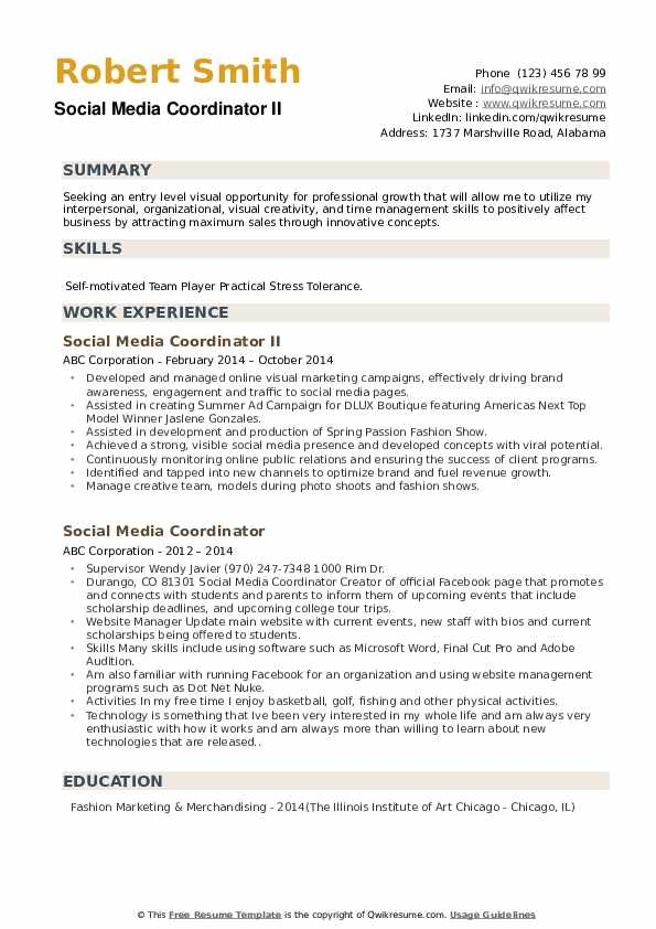 Assistant Editor Resume example