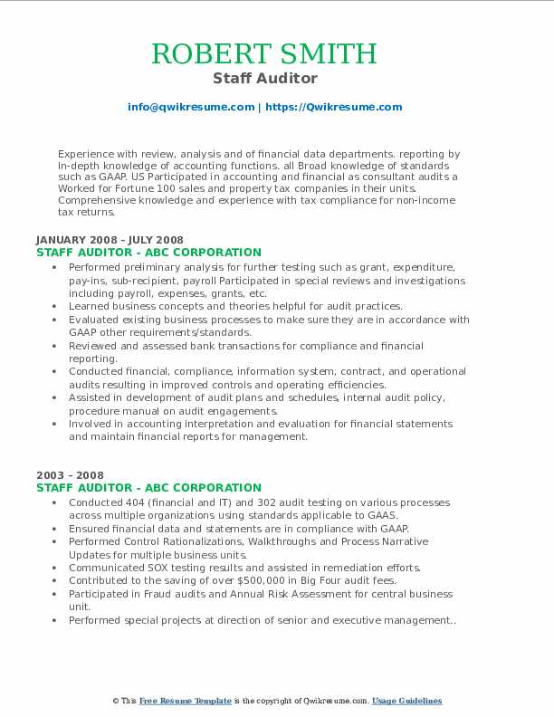Associate Tax Analyst Resume Model