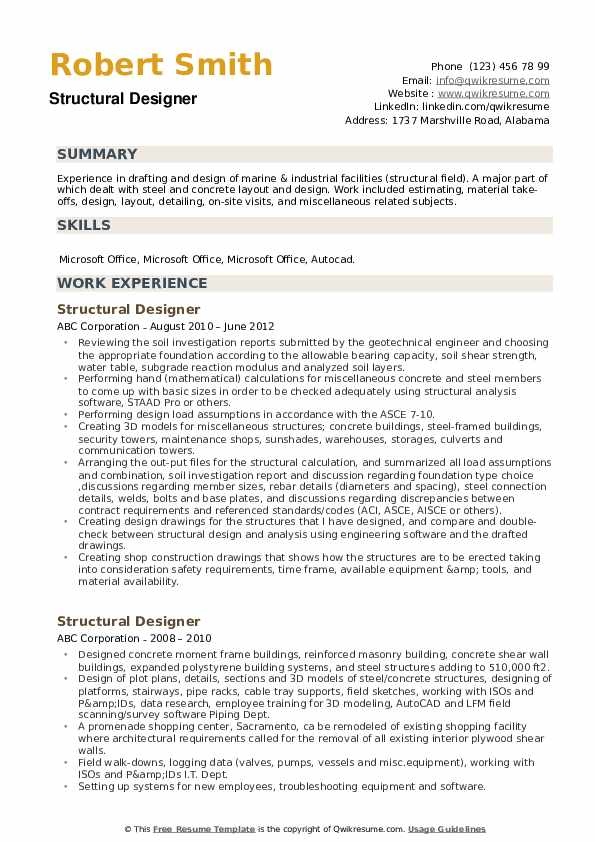 Client Site Engineer Resume Format