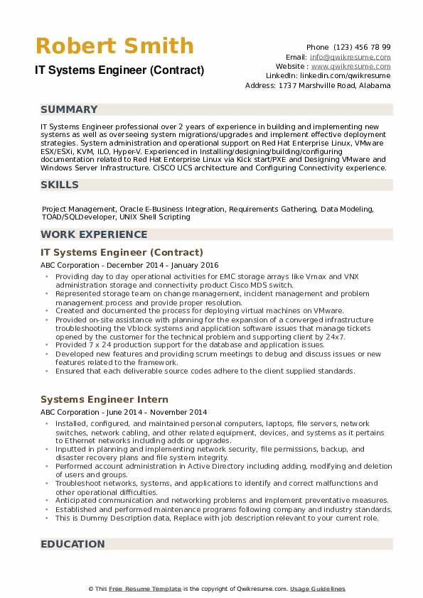 Resume systems engineer esl essays writer for hire for school
