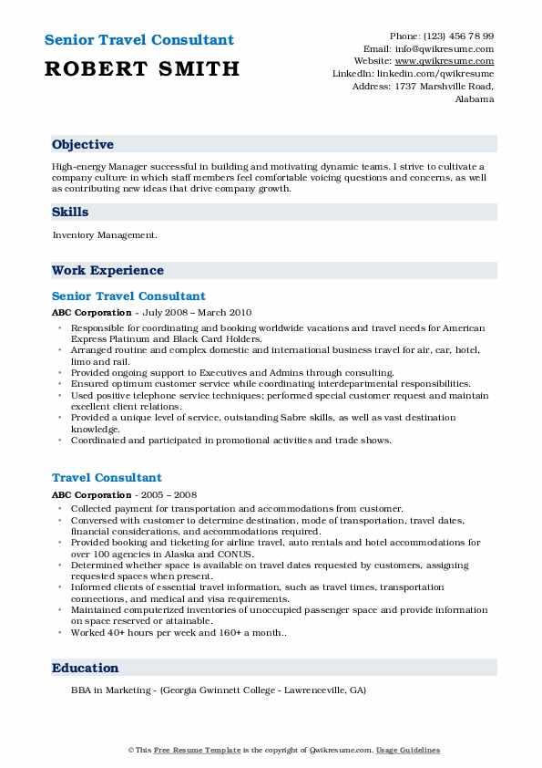 Logistic Coordinator I Resume Example