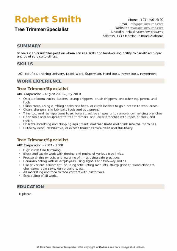 Room Service Attendant Resume example