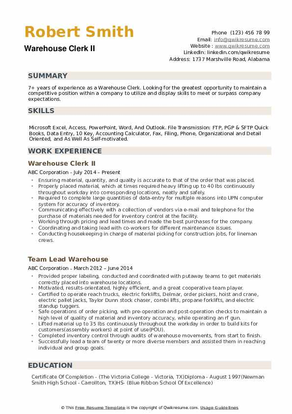 Front Line Supervisor Resume example
