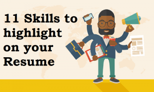 11 Top Skills to List on your Resume