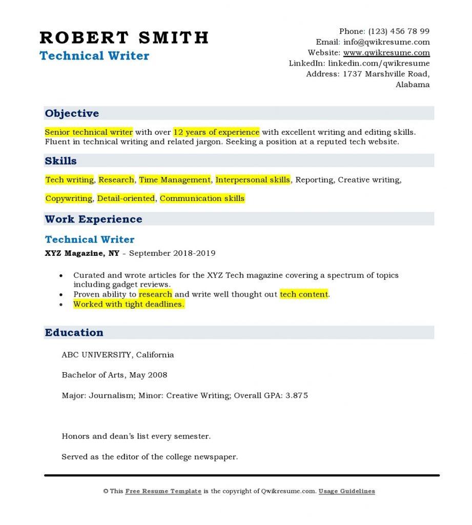 keywords-in-a-resume-sample-resume