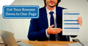 One Page Resume : Writing Tips & Sample