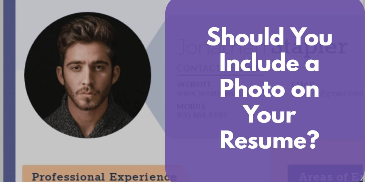 Including a Photo on a Resume
